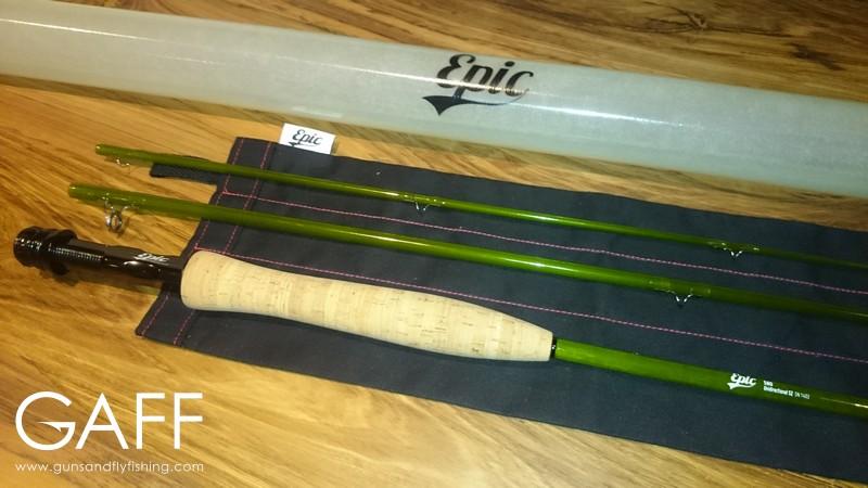 Swift epic 580 fiberglass fly rod build guns and fly fishing for Fiberglass fishing rods